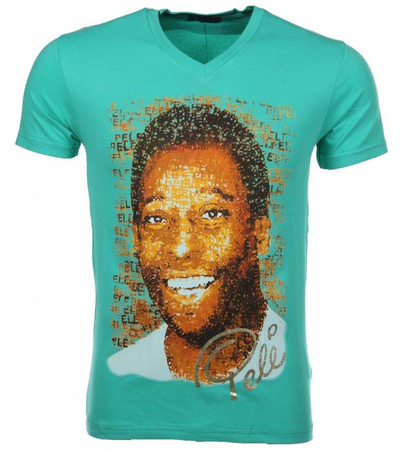 Mascherano T-shirt Pele - Groen