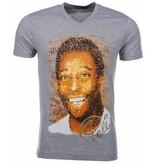 Mascherano T-shirt Pele - Grijs