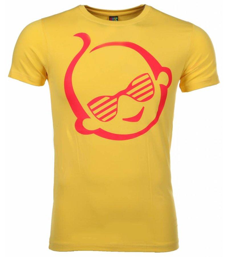 Mascherano T-shirt Zwitsal - Geel