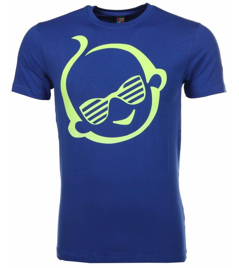 Mascherano T-shirt Zwitsal - Blauw