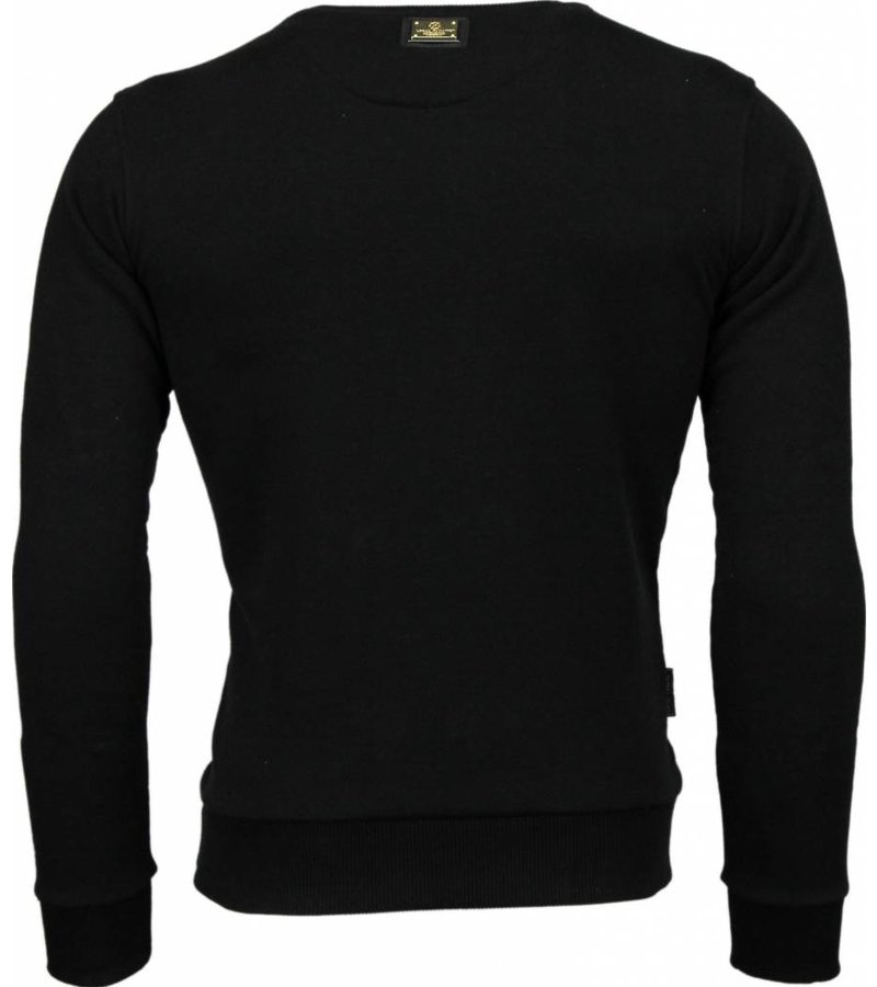 Local Fanatic Muhammad Ali Stars - Sweater - Zwart