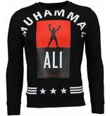 Local Fanatic Muhammad Ali Stars - Sweater - Zwart