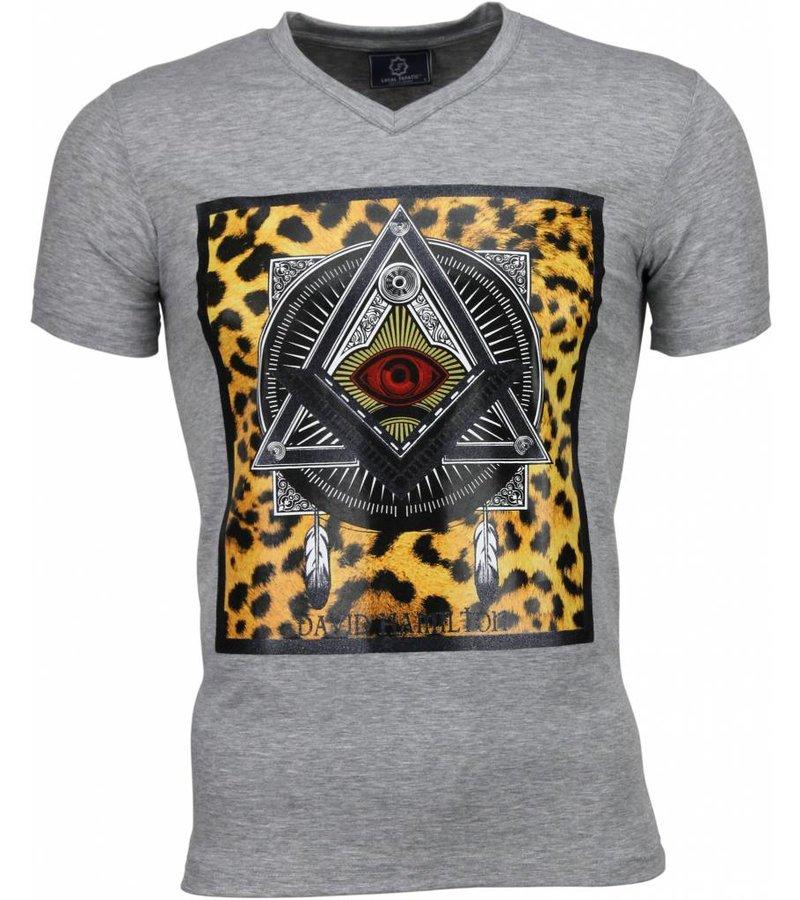 Local Fanatic Mason - T-shirt - Grijs