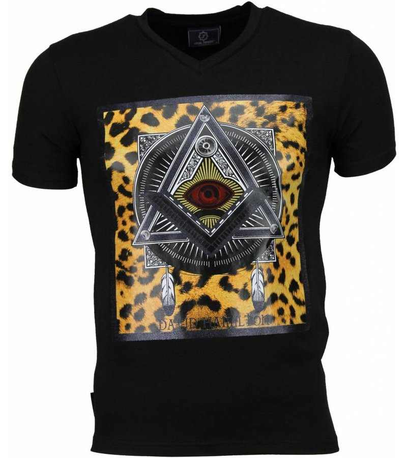 Local Fanatic Mason - T-shirt - Zwart