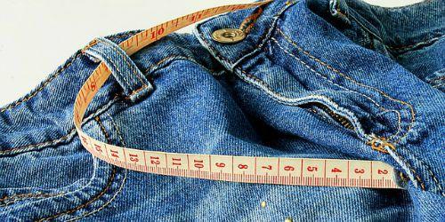 spijkerbroek opmeten