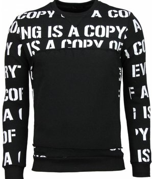 Maximal Copying - Sweater - Zwart