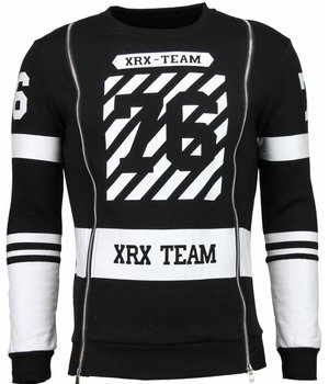 Maximal XRX-Team 76 - Sweater - Zwart