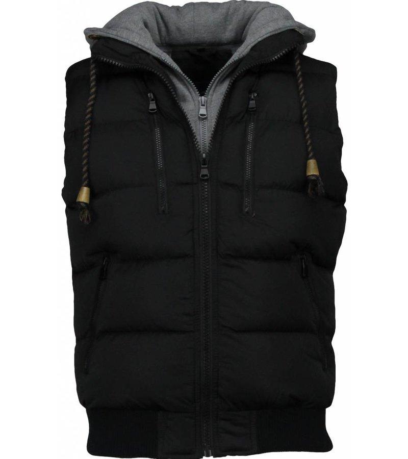 Enos Urban Style - Bodywarmer - Zwart