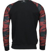 Local Fanatic Leger Arm Motief - Sweater - Zwart