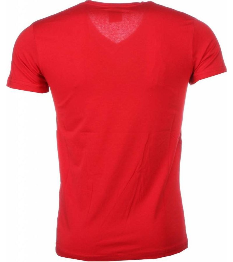 Mascherano T-shirt I Love Maroc - Rood