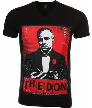 Mascherano T-shirt The Don - Zwart