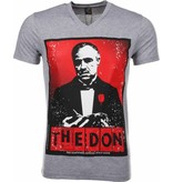 Mascherano T-shirt The Don - Grijs