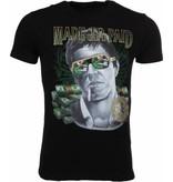 Mascherano T-shirt Made To Get Paid Scarface - Zwart