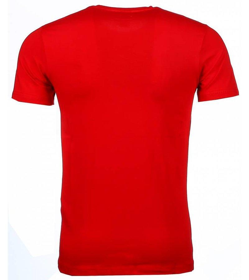 Mascherano T-shirt - Holy Mary - Oranje