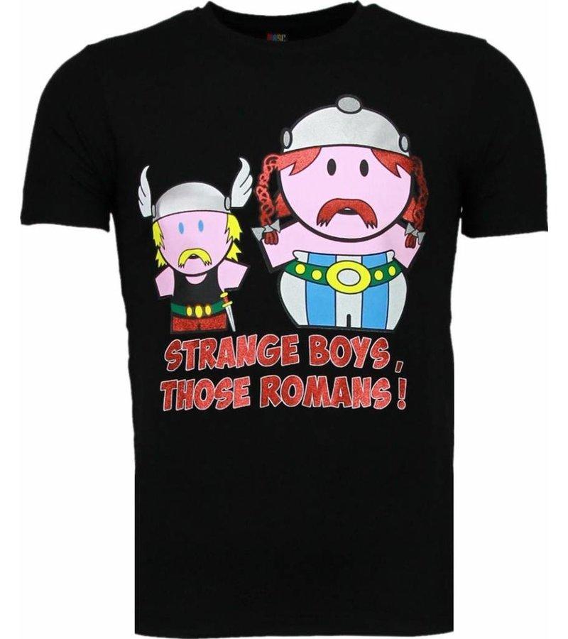 Mascherano Romans - T-shirt - Zwart