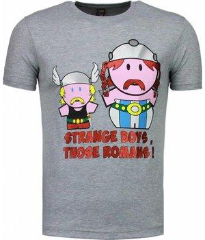 Mascherano Romans - T-shirt - Grijs