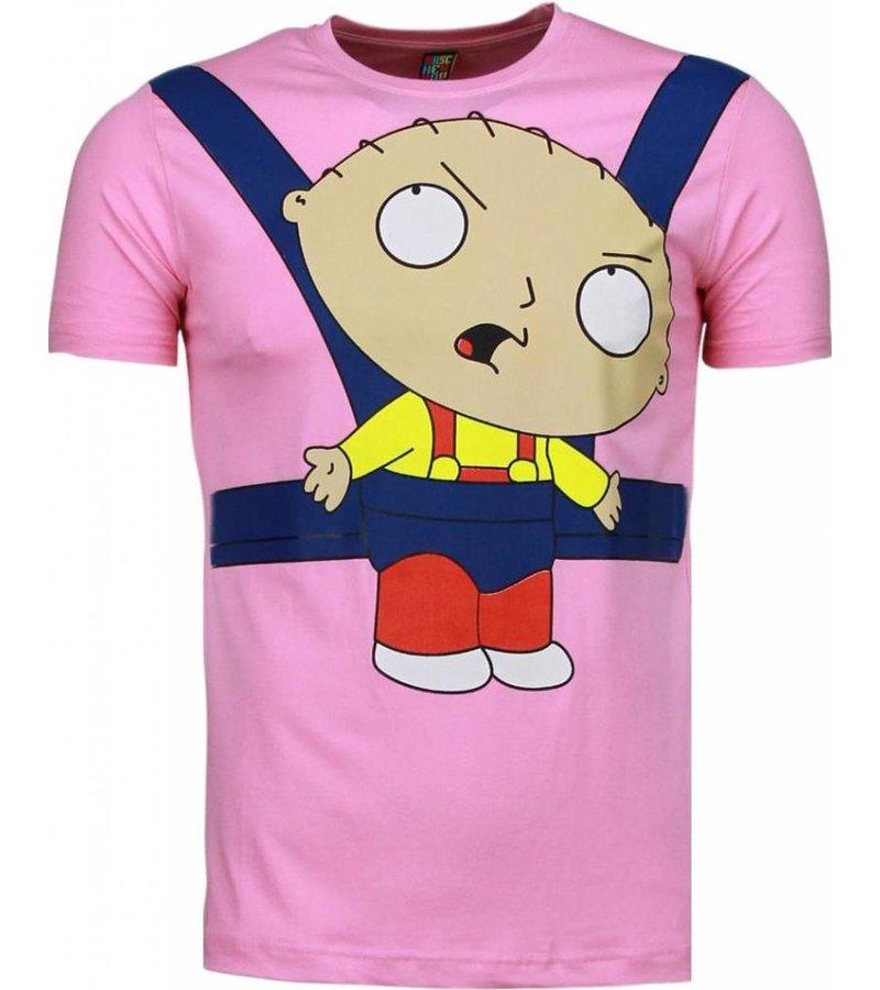 Mascherano Baby Stewie - T-shirt - Roze