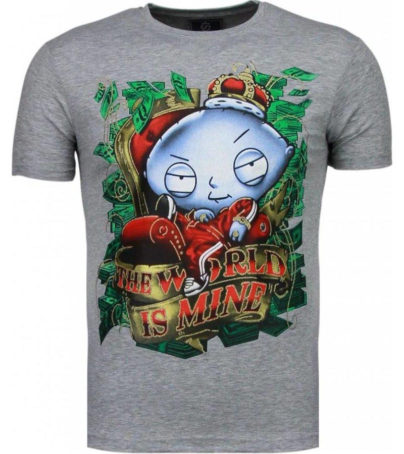 Mascherano Rich Stewie - T-shirt - Grijs