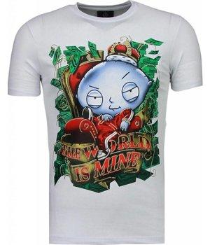 Mascherano Rich Stewie - T-shirt - Wit