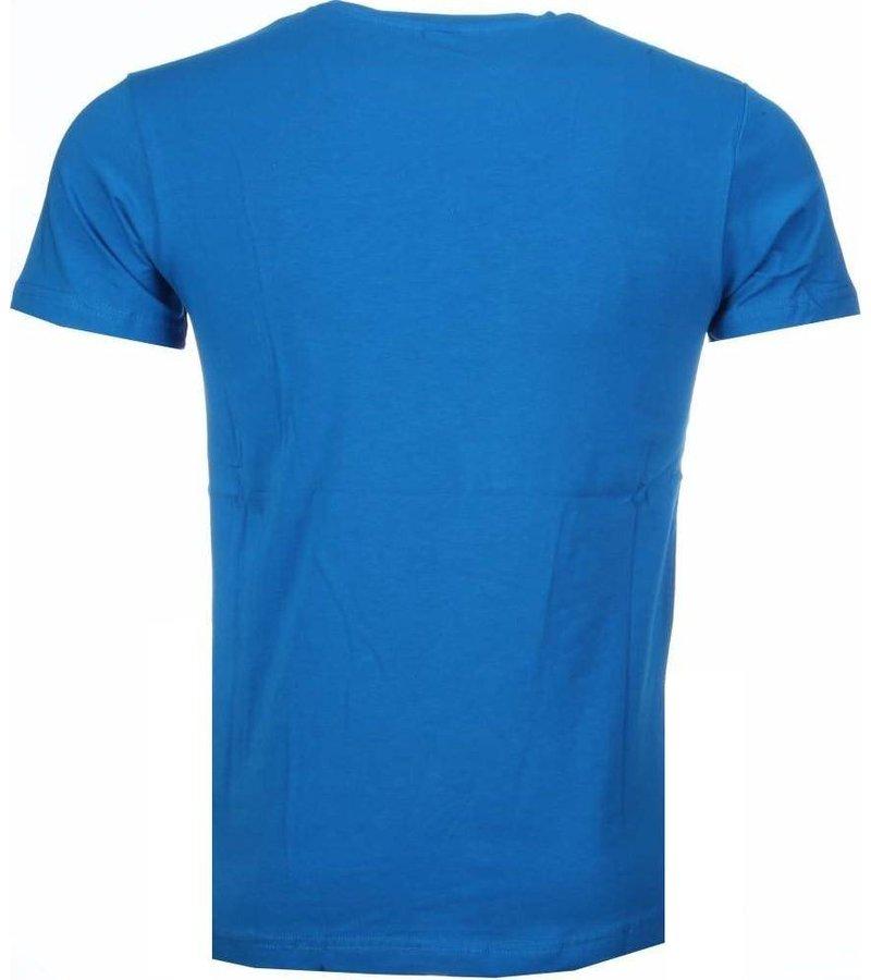 Mascherano Baby Bear - T-shirt - Blauw