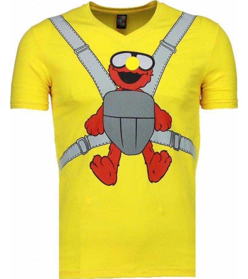 Mascherano Baby Bear - T-shirt - Geel