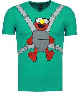 Mascherano Baby Bear - T-shirt - Mint Groen
