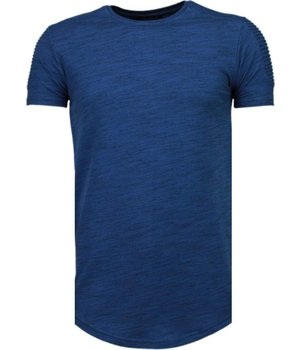 Tony Brend Sleeve Ribbel - T-Shirt - Navy