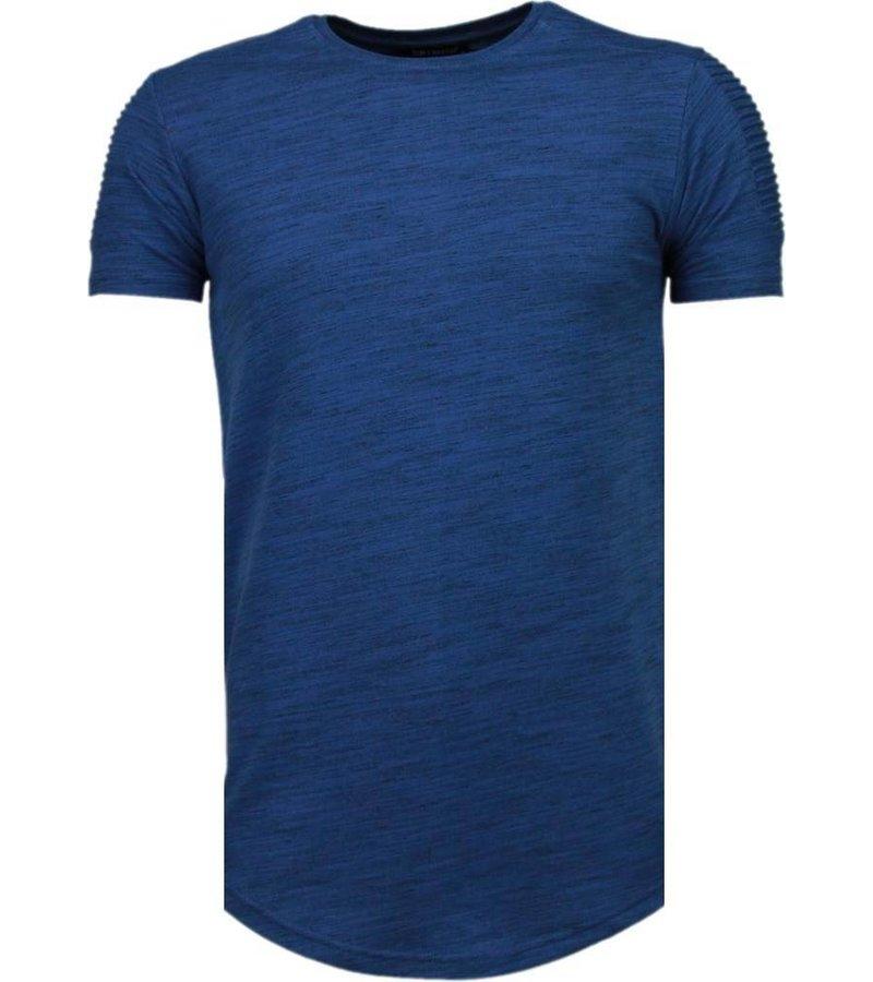 Tony Brend Sleeve Ribbel - T-Shirt - Navy