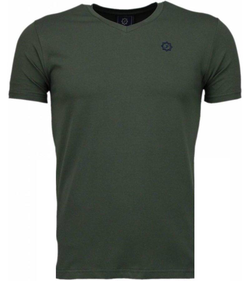 Local Fanatic Basic Exclusieve - T-Shirt - Leger Groen