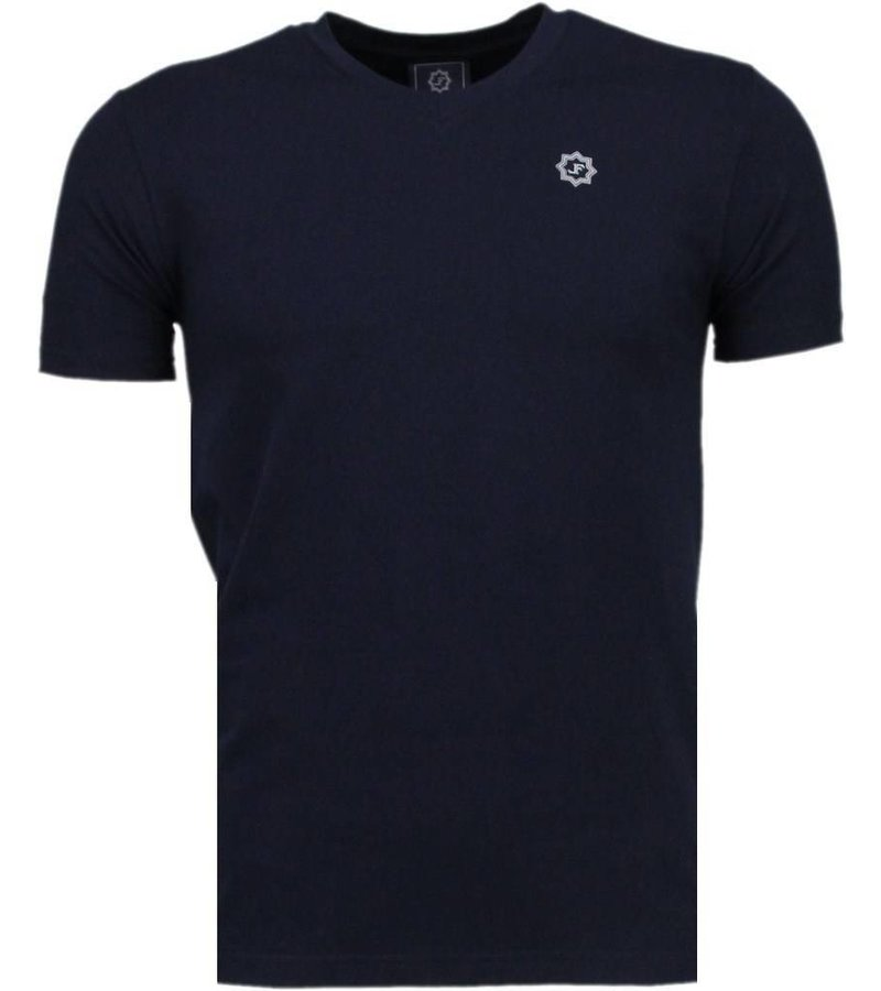 Local Fanatic Basic Exclusieve - T-Shirt - Donker Blauw