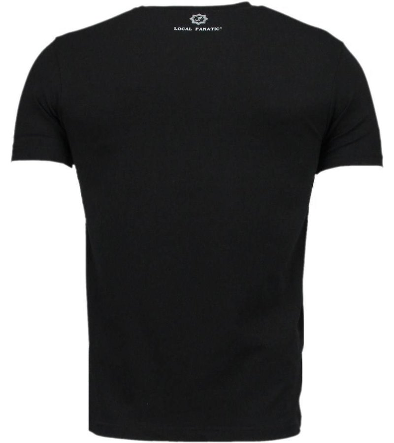 Local Fanatic Basic Exclusieve - T-Shirt - Zwart
