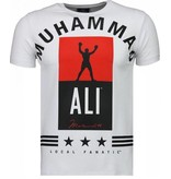 Local Fanatic Muhammad Ali Stars - T-shirt - Wit