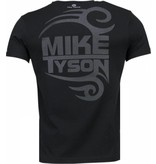 Local Fanatic Mike Tyson Tribal - T-shirt - Zwart