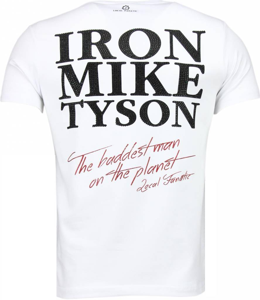 local fanatic iron mike tyson t shirt wit style italy. Black Bedroom Furniture Sets. Home Design Ideas