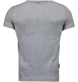 Local Fanatic SuperHero Returns - T-shirt - Grijs