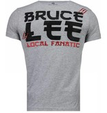 Local Fanatic Bruce Lee Hunter - T-shirt - Grijs