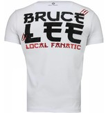 Local Fanatic Bruce Lee Hunter - T-shirt - Wit