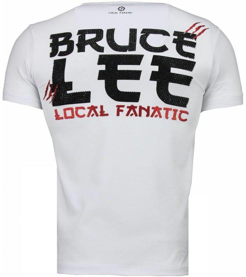 Local Fanatic Bruce Lee Hunter - T-shirt - Wit