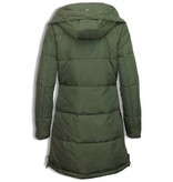 Adrexx Bontjassen - Dames Winterjas - Parka A Style - Groen