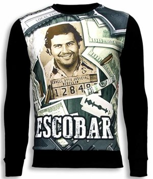 Local Fanatic Narcos Pablo Escobar - Sweater - Zwart