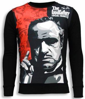 Local Fanatic Padrino - The Godfather - Sweater - Zwart