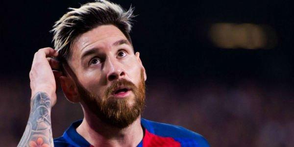 Uiterlijk Messi: van 2004 tot nu