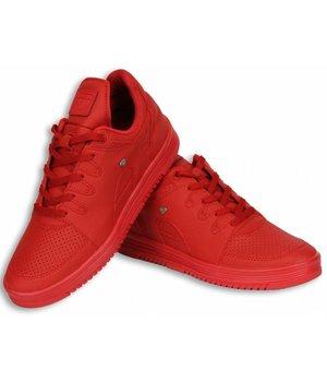 Cash M Heren Schoenen - Heren Sneaker Low - States Full Red - Rood