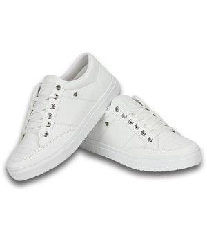 Cash M Heren Schoenen - Heren Sneaker Low - Wit