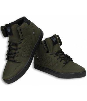 Cash M Heren Schoenen - Heren Sneaker High - Jailor Khaki