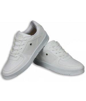 Cash M Heren Schoenen - Heren Sneaker Low - States Full White