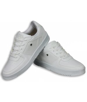 Cash Money Heren Schoenen - Heren Sneaker Low - Full White