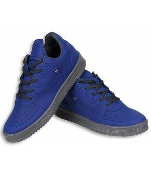 Cash M Heren Schoenen - Heren Sneaker Low - Blauw