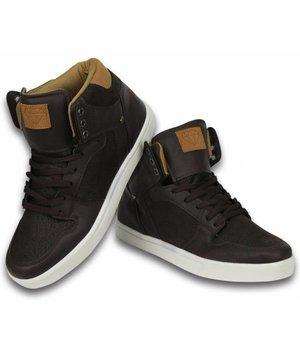 Cash M Heren Schoenen - Heren Sneaker High - Vintage Choco