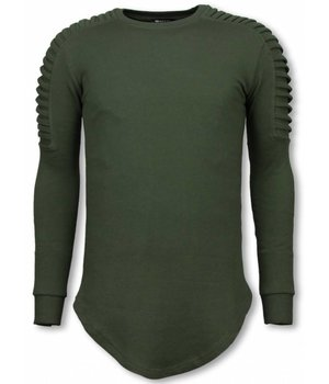 Uniplay Longfit Sweater - Biker Shoulder - Groen